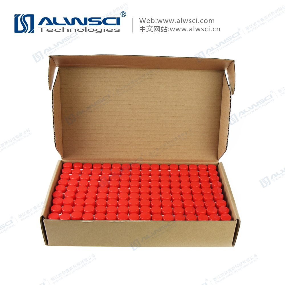 4ML 13-425 Clear Glass Sample Vial Pre-assembled with Closures Kit Packing 144pcs/Pack